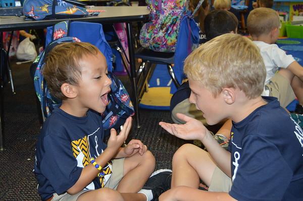 First Grade Sign Language Buddies