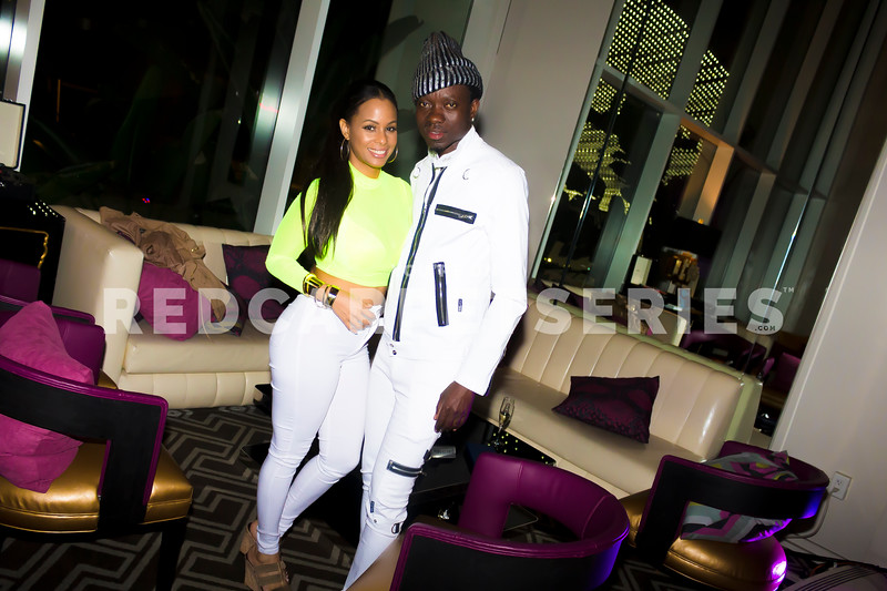 Michael Blackson at Afrobeats Nights @ W Hollywood with DJ Fredy Muks - 04-25-19
