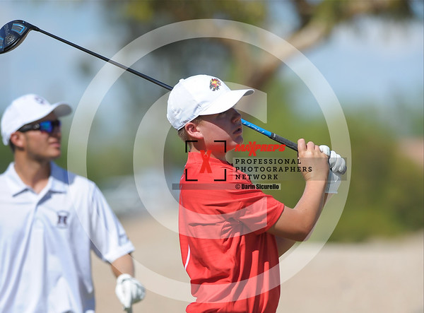 Boys Golf Fall 2017 Hamilton Pinnacle Basha Chaparral