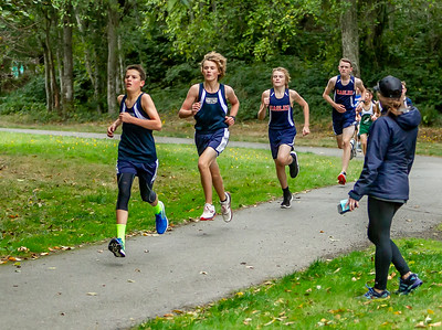 Set one: Middle School Boys Cross Country Nisqually Meet 2 10/02/2018