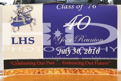 Lackey High School Class of 76, 40 Year Reunion 7-30-16