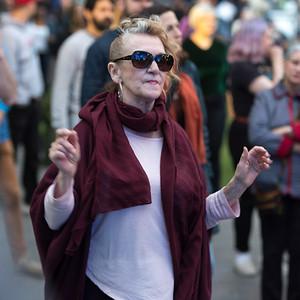 PEOPLE ENJOYING the JAZZ FEST