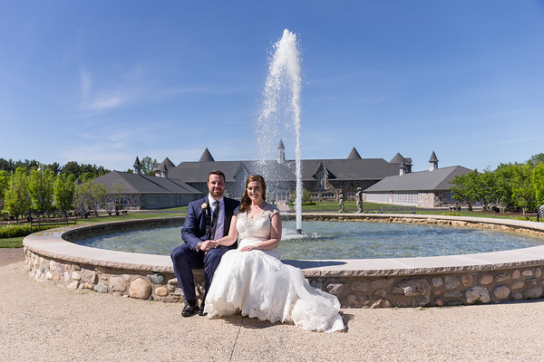 Sarah + Jay ~ Castle Farms Queen's Courtyard West Garden Room Wedding