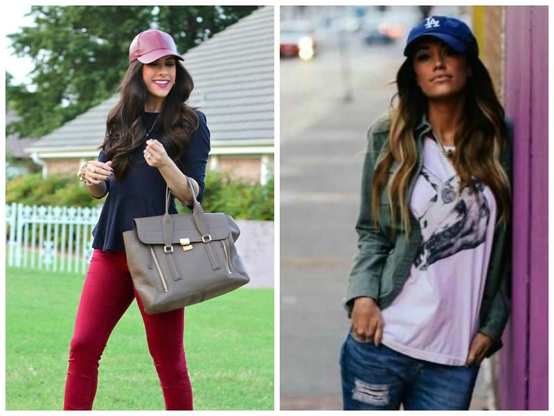 Woman / Long Hair / Baseball Cap / Urban Style