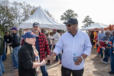 Piggly Wiggly Senior Bowl Tailgate with Bo Jackson
