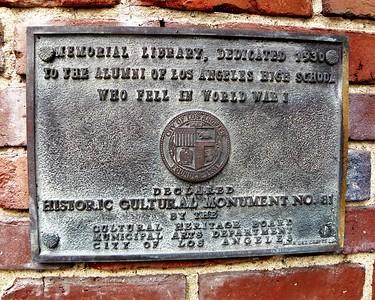 Los Angeles, Memorial Library