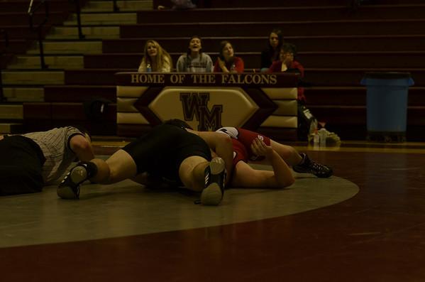 WMHS Wrestling vs SGarCo 12 2011