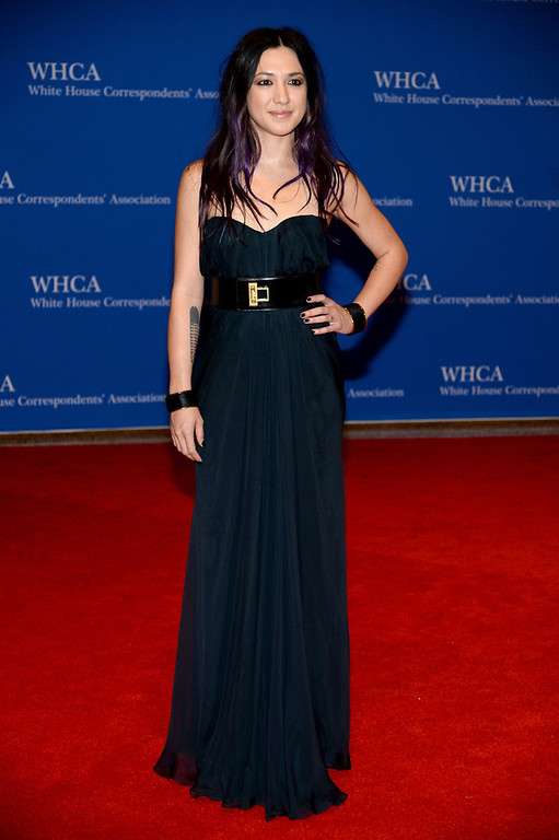 . Michelle Branch attends the 100th Annual White House Correspondents\' Association Dinner at the Washington Hilton on May 3, 2014 in Washington, DC.  (Photo by Dimitrios Kambouris/Getty Images)