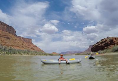 UT/Colorado River Kayaking - April, 2018