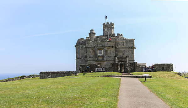 April 18 - Pendennis Castle and Falmouth