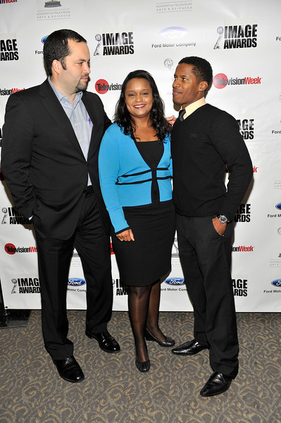 FORD MOTOR COMPANY SPONSORS 5TH ANNUAL NAACP IMAGE AWARDS HOLLYWOOD SYMPOSIUM HELD AT THE ACADEMY OF TELEVISION ARTS & SCIENCES AT THE GOLDENSON THEATRE IN NORTH HOLLYWOOD CALIFORNIA ON FEBRUARY 9, 2009BEN JEALOUS, PAMELA ALEXANDER, AND NATE PARKER