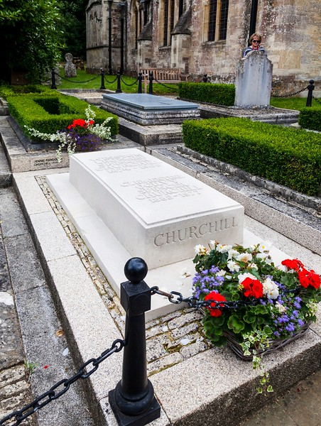 Blandon & Churchill's Grave