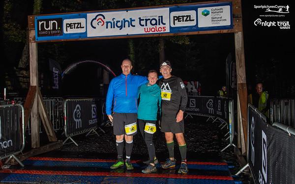 Petzl Night Trail Wales- Finish Photographs