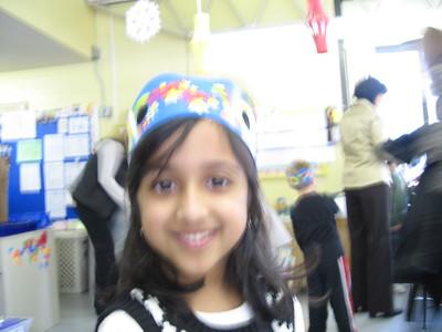 Rachel's kindergarten 100th day of school