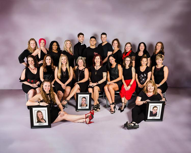 24/7 Dance Studio Staff: 2018