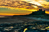 608 - Sunrise over Bamburgh Castle