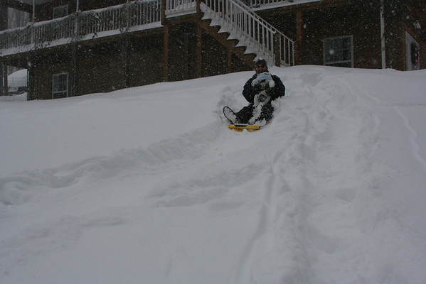 Levi's First Snow