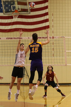 Stevens Volleyball v Hunter 180408