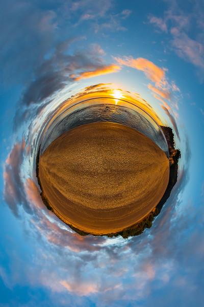 Sunrise at Whiritoa Beach