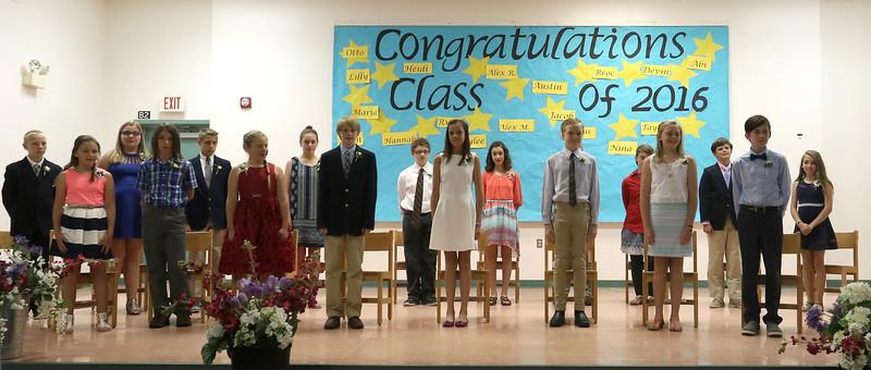 Killington Elementary School Graducation, 2016