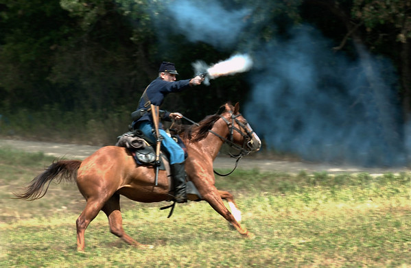 Civil War Reenactment at OWW