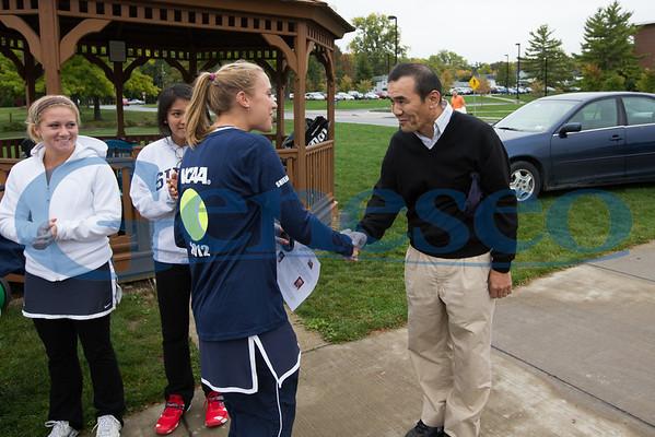Women's Tennis - Honoring Faculty