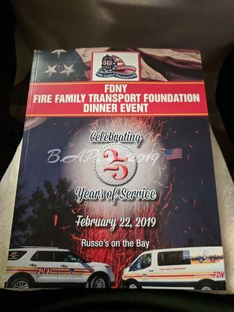 F.D.N.Y. Family Transport Dinner Feb 22, 2019
