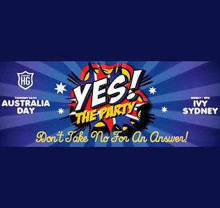 YES! The Party Australia Day 2017