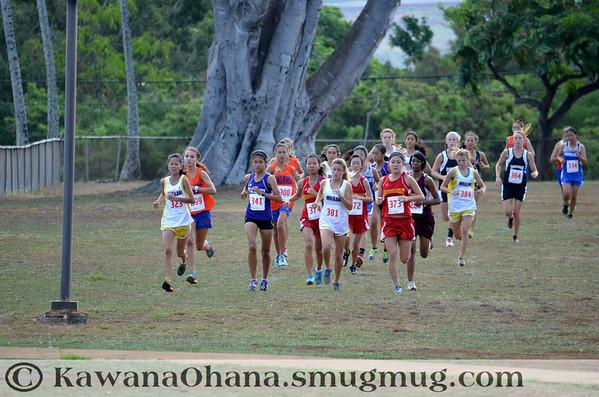 JV Girls OIA XC Championships 2012