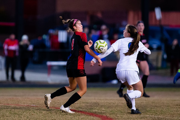 20191102  Varsity Girls Soccer Churchill at Quince Orchard