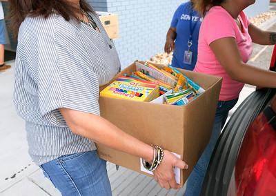 0805-0719 Operation SOS school supply distribution