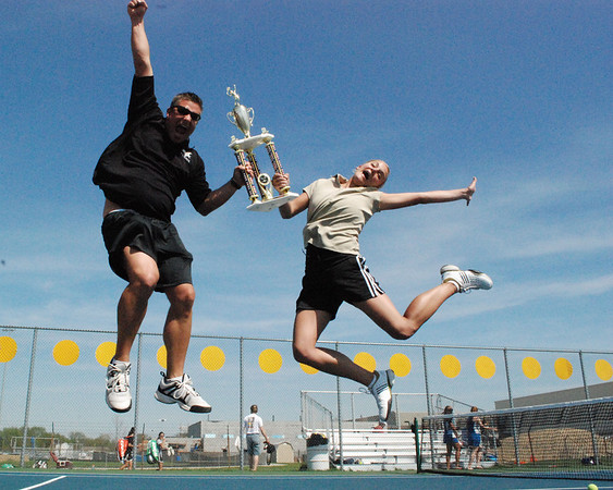 2009 COUNTY TENNIS CHAMPIONS - Mt. Vernon Lady Marauders