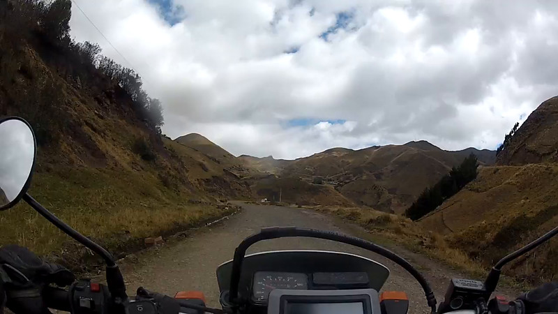 Ecuador family and moto riding