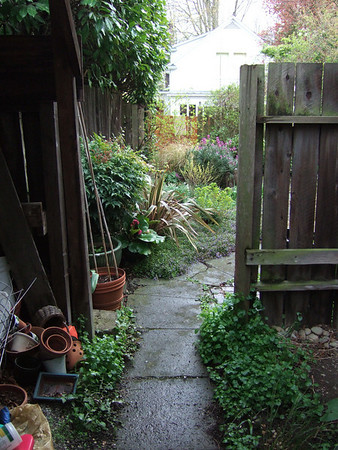 Back Yard Access