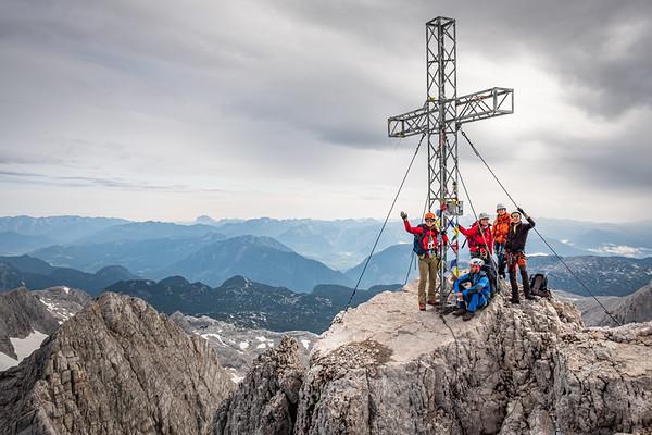 Výstup na Hoher Dachstein - červenec 2019