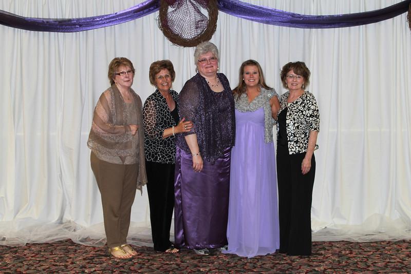 Beta Upsilon - Dana Snawder, Sarah Newman, Ann Southall, Trish Villines, and Vicky Hinrichs