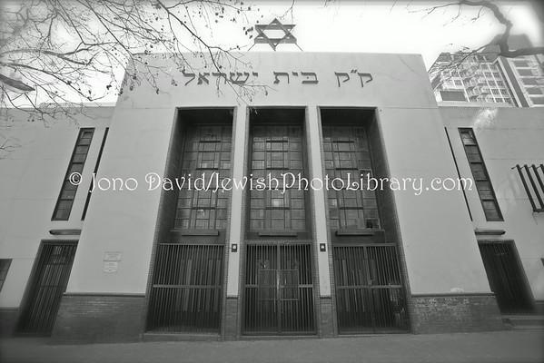 SOUTH AFRICA, Gauteng, Johannesburg, Hillbrow. Temple Israel (8.2012)