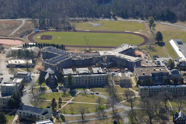 Aerial Photo of Jacobson Hall