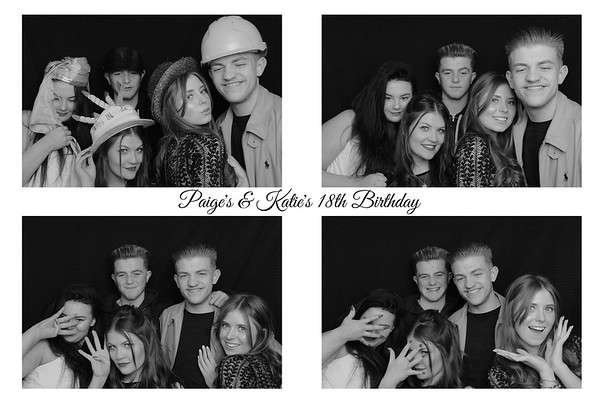 Paige's & Katie's 18th Birthday