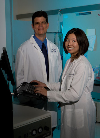 Drs. Dean Felsher and Alice Fan
