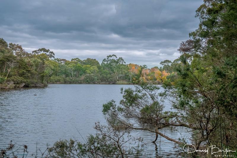 "Blackburn Lake at ""The Landing"""