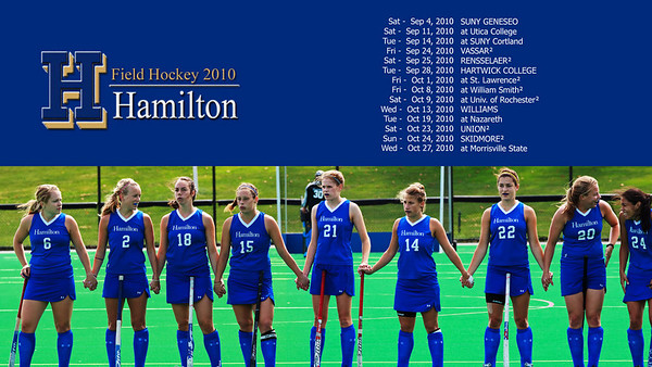 Hamilton Field Hockey Screen Savers