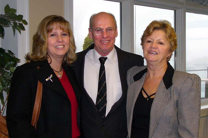 Cousins - Norman and Delsia Fournier, and daughter Lisa  Norman is Ma Tante Yvonne and Mon Oncle Leo's Son