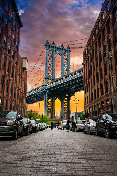 sunset at Dumbo bridge 2.jpg