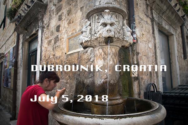 Dubrovnik July 5, 2018