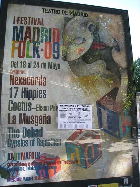 Folk Festival of Madrid