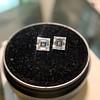 1.47ctw Carre Cut Diamond Pair GIA F VS2 10