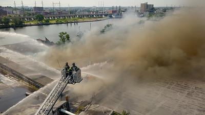 AGI Building Fire (Bridgeport, CT) 7/12/17