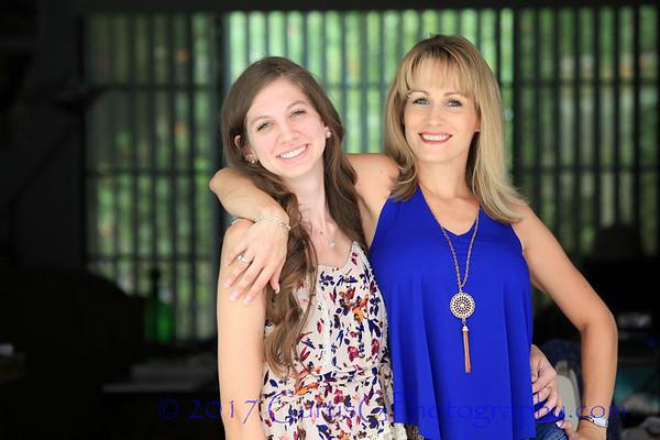 Dana & Paige: Sisters Day of Pics