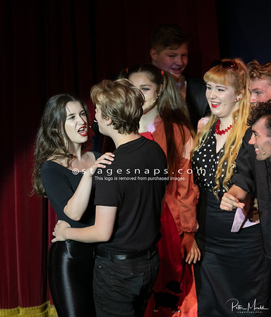 GREASE  (Dress rehearsal) 2018